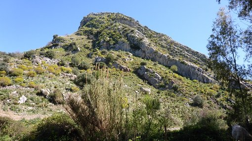Rugged Hills Around Rosamarina Lake - Sicily Cycling