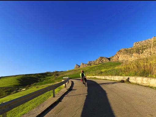 Magna Via Francigena by bike - Sicily Cycling