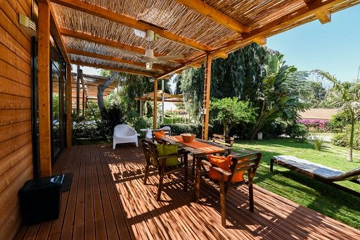 Camping Scarabeo Holiday Home Terrace