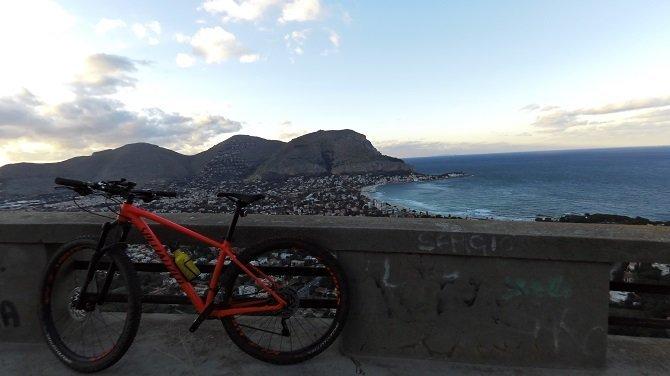 Palermo in MTB - Vista su Mondello