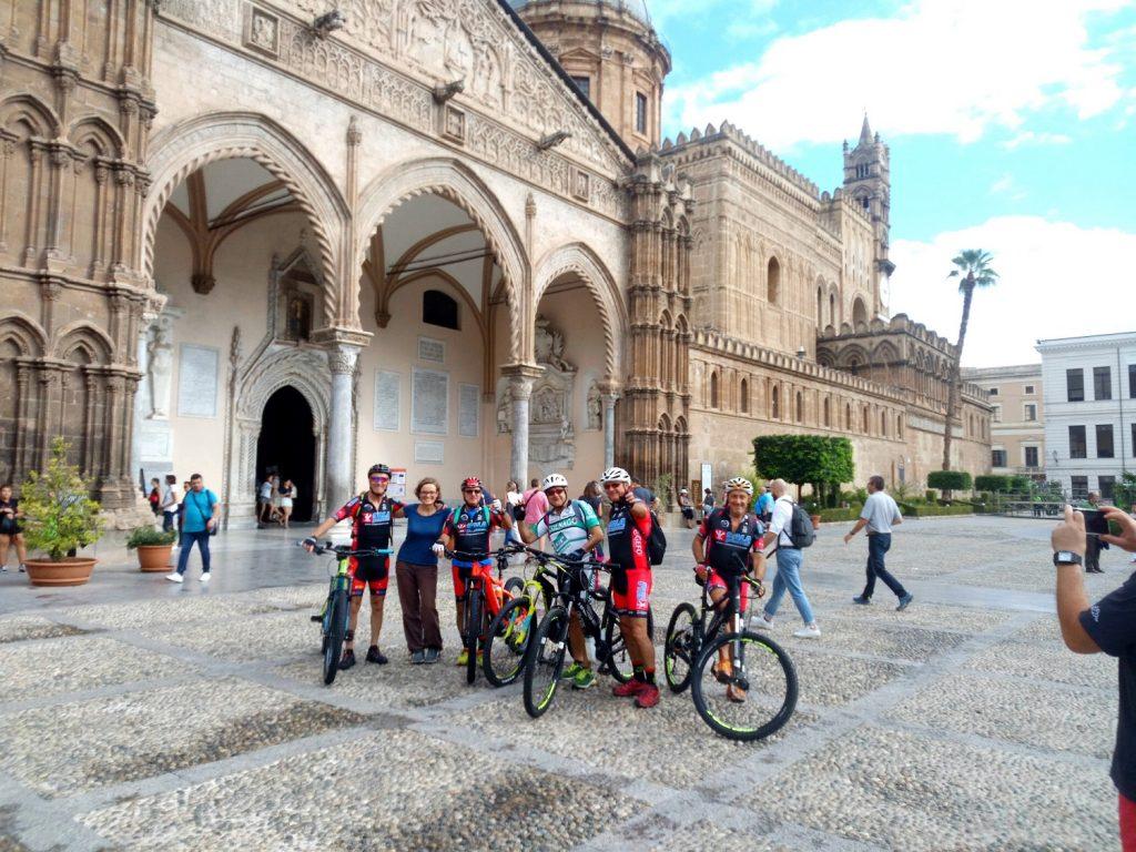 Bike Rental in Palermo - Magna Via Francigena trail start