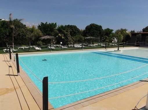 Sunseabeach Camping Marzamemi Pool Area