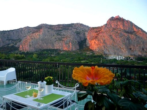 Holiday Apartment Gebel Grin - Panoramic Terrace