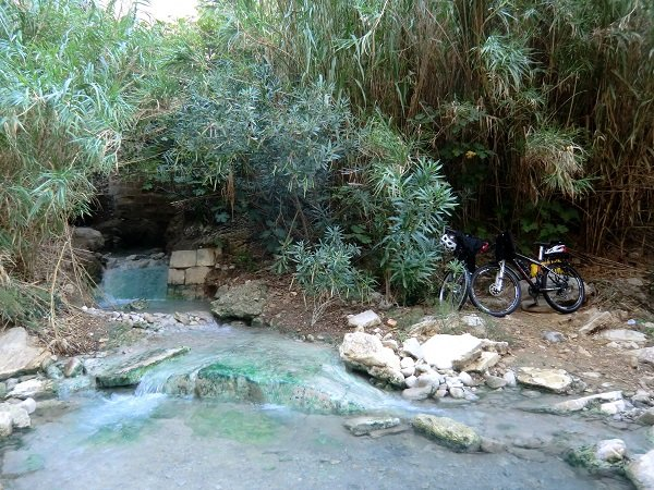 Thermal Baths in Segesta - Sicily Cycling